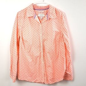 Charter Club Women's Relaxed Fit Button Down